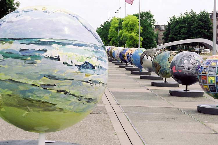 COOL GLOBES een internationaal project ter bewustmaking van de Global Warming.